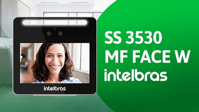 SS3530 MF W controle de acesso facial Intelbras